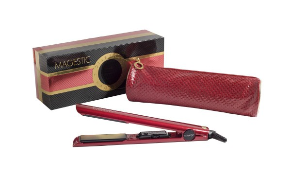 "Hair Straightener - 1"" nano silver red"